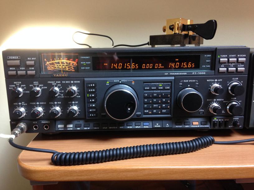 Yaesu FT-1000D (Millone)